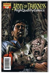 ARMY of DARKNESS #7, NM, Sharpe, Chainsaw, Gun, 2005, more AOD in store