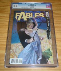 Fables #2 CGC 9.4 bill willingham - vertigo comics - james jean cover 2002
