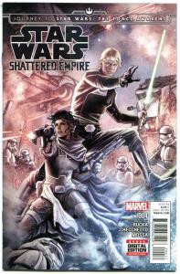 STAR WARS Shattered Empire #4, VF/NM, 2015, Force Awakens, Greg Rucka