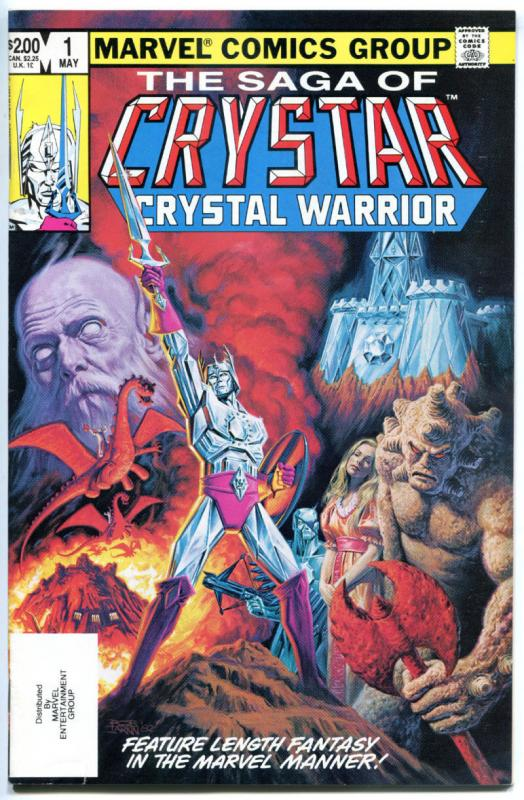 SAGA of CRYSTAR - CRYSTAL WARRIOR #1 2 3 4 5 6, VF+, 1983, 6 issues, 1-6
