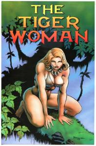 TIGER WOMAN Flyer, VF/NM, Don Marquez, 1998, Millennium, more Promos in store
