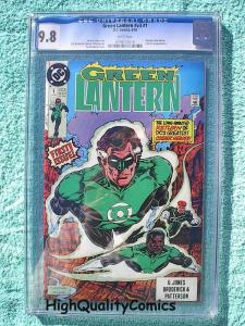 GREEN LANTERN #1, CGC 9.8, NM/M, Batman, White Pgs,1990, more CGC in store