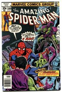 AMAZING SPIDER-MAN #180-1978-GREEN GOBLIN APPEARANCE-fine/very fine vf