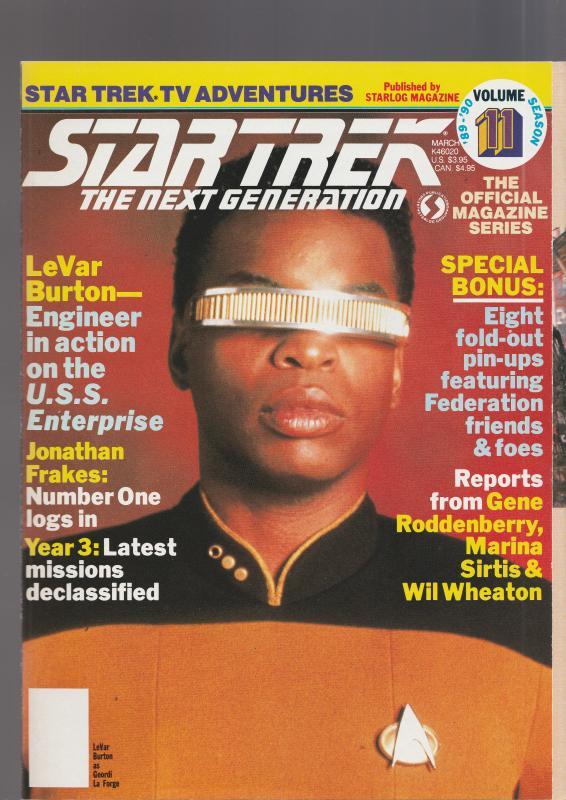 Star Trek Next Generation Vol 11