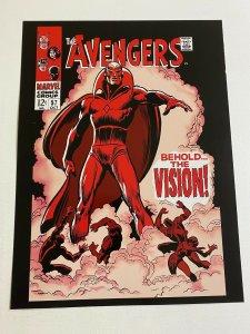 Avengers #57 (1st Vision) Marvel Comics Poster by John Buscema