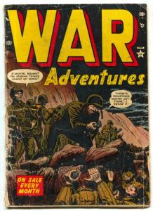 War Adventures #4 1952- Atlas Korean War comic- FAIR