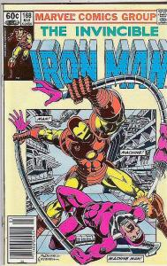 Iron Man #168 (Feb-84) NM+ Super-High-Grade Iron Man