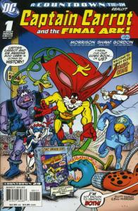 Captain Carrot and the Final Ark #1 VF; DC | save on shipping - details inside
