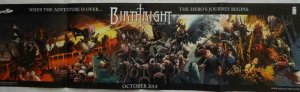 BIRTHRIGHT Promo Poster, 10 x 36, 2014, IMAGE, Unused more in our store 342