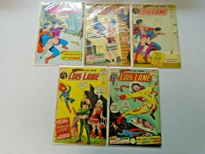 Silver Age Lois Lane Comic Lot 15¢ Covers From #94-123 17 Diff 4.0 VG (1969-72)