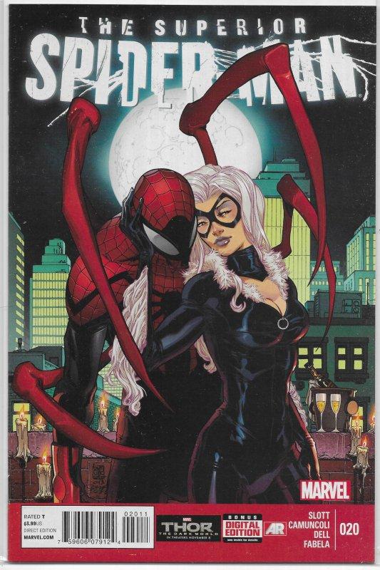 Superior Spider-Man   vol. 1   # 20 FN Black Cat