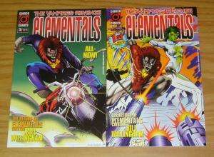 Elementals: the Vampires Revenge #1-2 VF/NM BILL WILLINGHAM complete series 1996