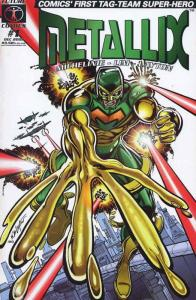 Metallix #1 VF/NM; Future | save on shipping - details inside