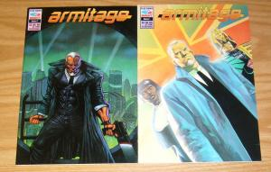 Armitage #1-2 VF/NM complete series - sean phillips - fleetway/quality set lot