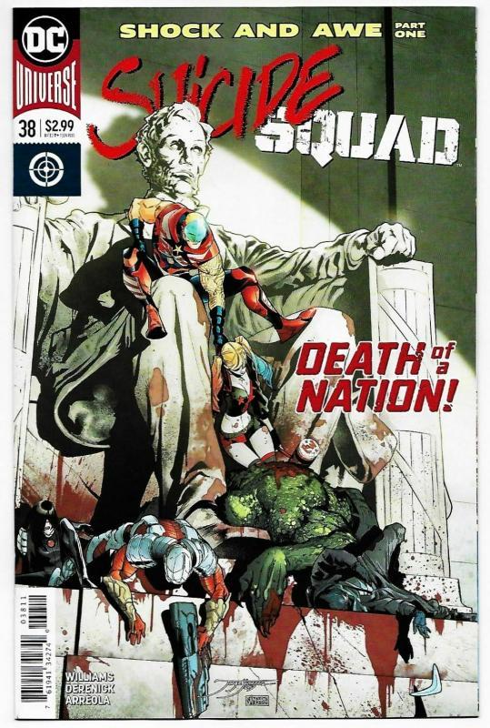 Suicide Squad #38 Rebirth Main Cvr (DC, 2018) NM