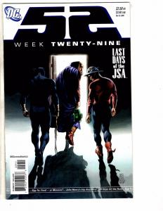 10 52 DC Comic Books # 29 30 31 32 33 34 35 36 37 38 Weeks Batman Superman J214
