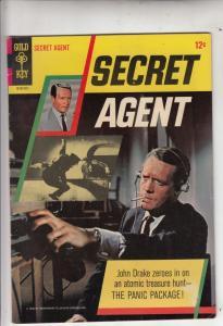 Secret Agent #1 (Nov-66) FN/VF Mid-High-Grade John Drake (Patrick McGoohn)