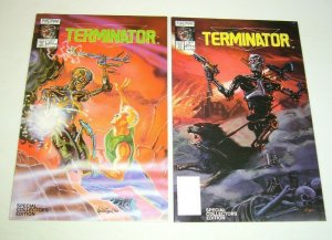 Terminator: All My Futures Past #1-2 VF/NM complete series chuck dixon now comic