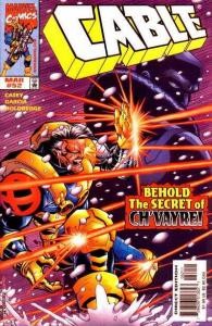 Cable (1993 series) #52, NM- (Stock photo)