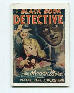 BLACK BOOK DETECTIVE-REPRODUCTION-LIMITED EDITION-THE MURDER MAKER-JUNE