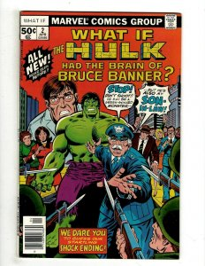 8 What If? Marvel Comics # 2 3 4 5 6 7 8 9 Hulk Invaders Captain America J461