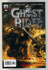 GHOST RIDER #1, VF/NM, Limited, Variant, Garth Ennis, 2005, more GR in store