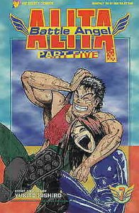 Battle Angel Alita Part 5 #7 VF; Viz | save on shipping - details inside