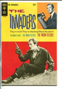 THE INVADERS #3 1968-GOLD KEY-HIGH GRADE-TV SERIES-ROY THINNES-nm