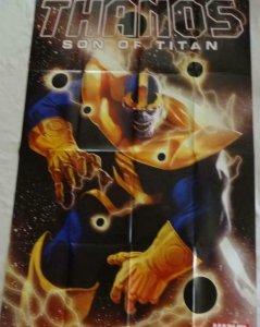 THANOS SON OF TITAN Promo Poster, 24 x 36, 2012, MARVEL, Unused 264