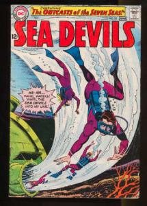 Sea Devils #23, Fine+ (Actual scan)