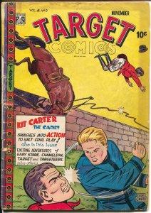 Target Vol. 8 #9 1947-Targeteers-Chameleon-Cadet-Gary Stark-Don Rico-G/VG