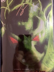 SDCC 2019 Exclusive Batman 75 City of Bane 2x Signed with COA