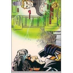 1993 Upper Deck Valiant/Image Deathmate NINJAK REPORTS #52