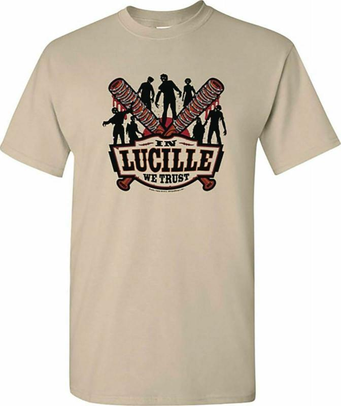 Walking Dead In Lucille We Trust T-Shirt Size XXL - New!