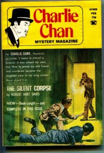 CHARLIE CHAN PULP MAGAZINE-Feb 1974-CRIME & DETECTIVE STORIES-2nd ISSUE-rare