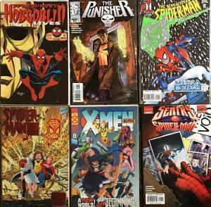 SPIDER-MAN,WOLVERINE,PUNISHER,HOBGOBLIN,X-MEN(MARVEL)ALL #1'S UNREAD NM CONDIT.