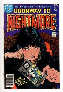 DOORWAY TO NIGHTMARE #1VF/NM 9.0;1st APP MADAME XANADU;HBO MAX COMING!