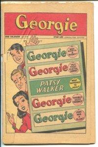 Georgie #8 1946-Marvel-Patsy Walker-Stan Lee-P