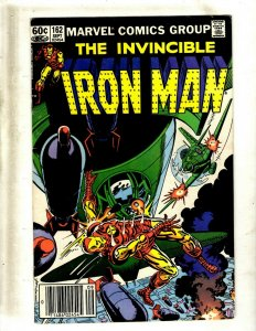 Lot of 12 Iron Man Comics #162 165 166 169 173 184 185 187 189 193 194 195 GB2