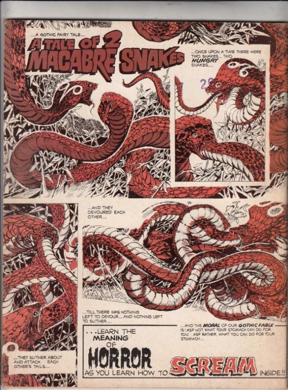 Scream Magazine #2 (Oct-73) VF High-Grade