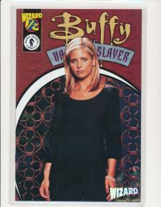 Wizard No. 1/2 Buffy the Vampire Slayer Photo Cover w/ COA ~ NM (PF580)