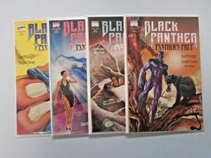 Black Panther Panther's Prey (4 books) set #1 to #4 8.0 VF 1991