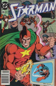 Starman (1st Series) #26 (Newsstand) VG; DC   low grade comic - save on shipping