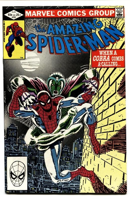 AMAZING SPIDER-MAN #231 comic book-1982-MARVEL COBRA nm-
