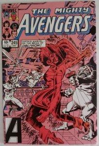 AVENGERS #245 Marvel Comics ID#MBX2