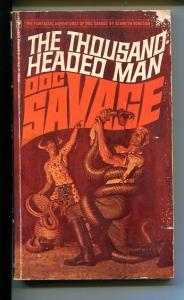 DOC SAVAGE-THE THOUSAND HEADED MAN-#2-ROBESON-JAMES BAMA COVER-G G