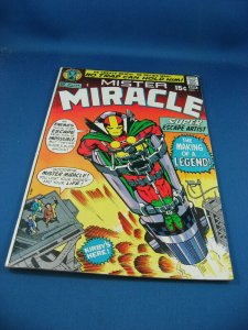 MISTER MIRACLE 1 VG F FIRST ISSUE KIRBY 1971