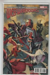 WEB WARRIORS (2015 MARVEL) #8 NM- A07929