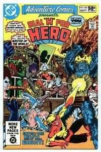 Adventure Comics 485 Sep 1981 NM- (9.2)