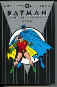 Batman Archives-Vol 6- #120-135-Color Reprints-Hardcover